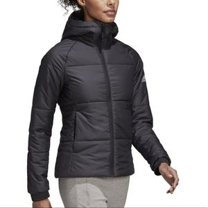 Hooded Quilted Puffer Jacket - Adidas - NWT ✨